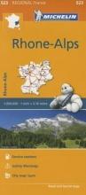 Rhone-Alps - Michelin Regional Map 523