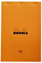 , Schrijfblok Rhodia A4 80vel geel lijn