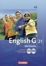 English G 21. Ausgabe A 2. Workbook mit CD-ROM (e-Workbook) und Audios Online