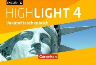 Raspe, Ingrid English G Highlight Band 4: 8. Schuljahr - Hauptschule - Vokabeltaschenbuch