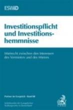Investitionspflicht und Investitionshemmnisse