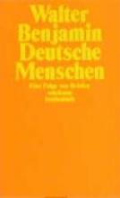 Benjamin, Walter Deutsche Menschen