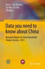 Zhichao Yin,   Nan Jia,   Shu Xu,   Lu Zheng Data you need to know about China