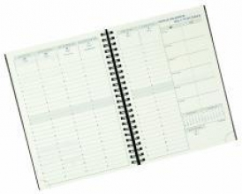 Visuel Designo 2018 Schreibtisch-Terminkalender sortiert