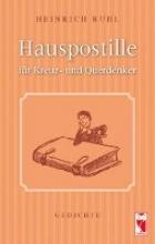 Ruhl, Heinrich Hauspostille für Kreuz- und Querdenker