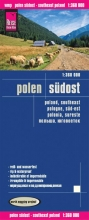 , Reise Know-How Landkarte Polen, Südost 1 : 360.000