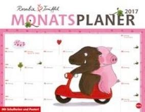 Bücker, Jutta Rosalie und Trüffel Monatsplaner - Kalender 2017