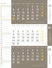 times&more Kombiplaner - Kalender 2017