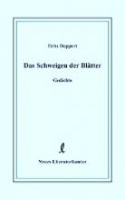 Deppert, Fritz Das Schweigen der Bltter