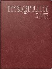 Buchkalender magnum 2017 PVC rot