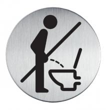 , Infobord pictogram Durable 4921 verboden Staand urineren