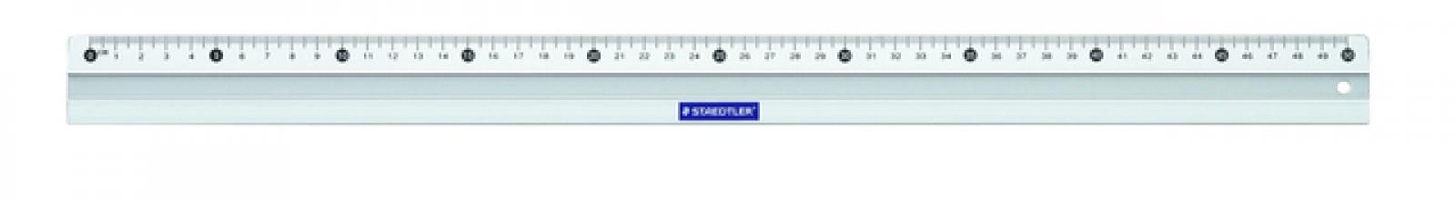 , Liniaal Staedtler 563 500mm aluminium