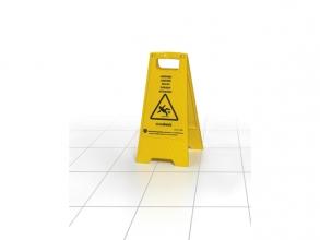 , waarschuwingsbord Easy Absorb tweezijdig, opvouwbaar.