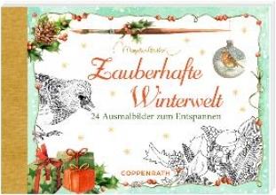 Zauberhafte Winterwelt. Kreativbuch