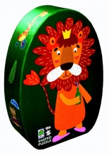 , Deco puzzel leeuw
