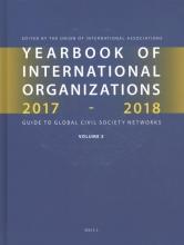 Yearbook of International Organizations 2017-2018 Volume 5