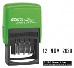 , Datumstempel Colop S220 green line 4mm