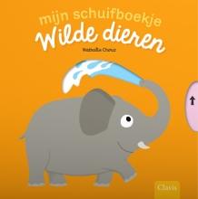 Nathalie  Choux Mijn schuifboekje. Wilde dieren