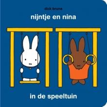 Dick Bruna , nijntje en nina in de speeltuin