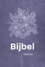 , Bijbel (HSV) met Psalmen - vivella paars