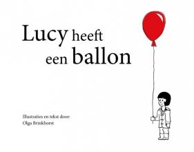 Olga  Brinkhorst Lucy heeft een ballon