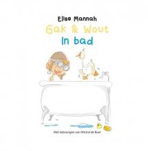 Elise  Mannah Gak en Wout Gak en Wout - In bad