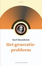 Karl Mannheim , Het generatieprobleem