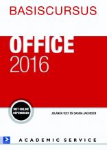 Jolanda Toet Saskia Jacobsen, Basiscursus Office 2016