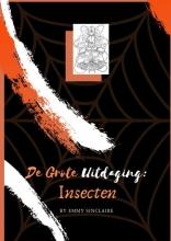 Emmy Sinclaire , Volwassenen kleurboek De Grote Uitdaging : Insecten