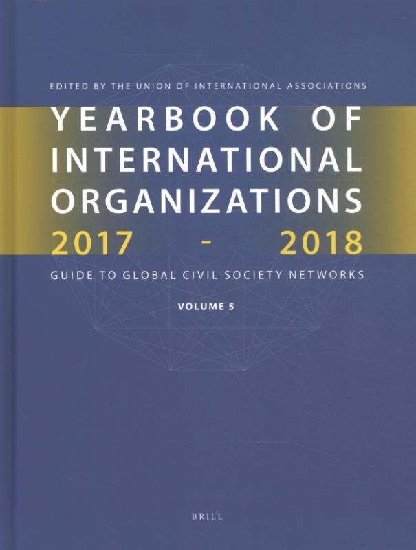 ,Yearbook of International Organizations 2017-2018 Volume 5
