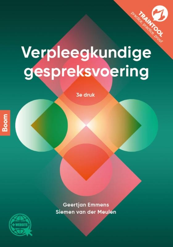 Geertjan Emmens, Siemen van der Meulen,Verpleegkundige gespreksvoering, 3e druk, incl. TrainTool