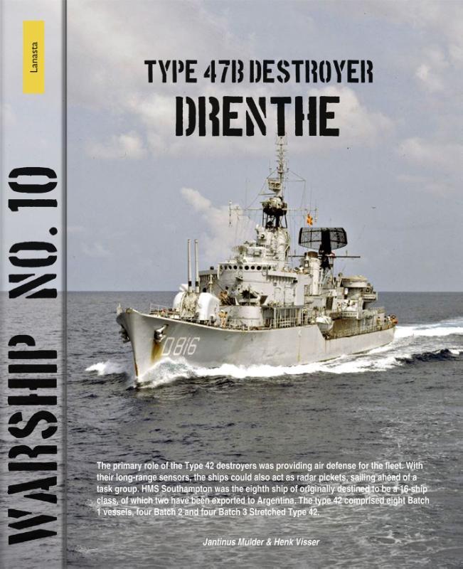 Jantinus Mulder, Henk Visser,Type 47b destyroyer Drenthe