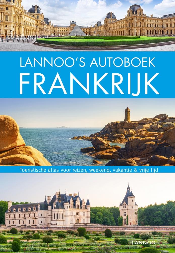 ,Lannoo`s Autoboek Frankrijk