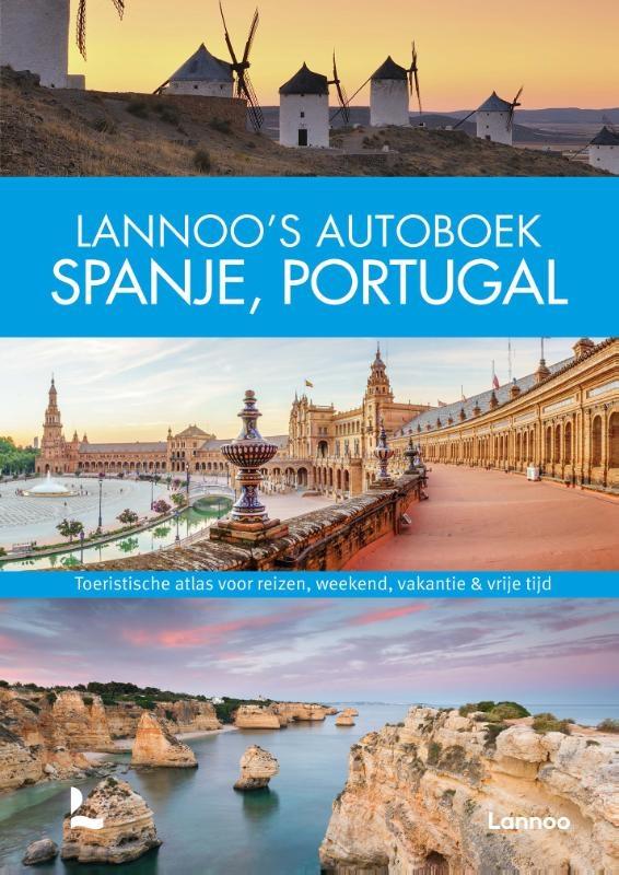 ,Lannoo`s Autoboek Spanje, Portugal