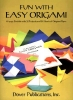 Dover Publications Inc,Fun with Easy Origami