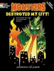 Elder, Jeremy,Monsters Destroyed My City! Dover Stained Glass Coloring Boo