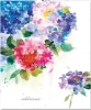 ,Hydrangeas Large Address Book