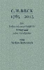 Rebenich, Stefan,C.H. BECK 1763 - 2013