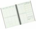 ,Visuel Designo 2019 Schreibtisch-Terminkalender sortiert