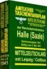 ,Amtlicher Taschenfahrplan Mitteldeutschland der Reichsbahndirektion Halle und angrenzende Gebiete