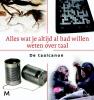 Mathilde  Jansen, Marianne  Boogaard,Alles wat je altijd al had willen weten over taal