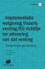 <b>J. van Drongelen, A.D.M. van Rijs</b>,Implementatie van het Visserijverdrag en de EU-richtlijn ter uitvoering van dat verdrag in de Nederlandse wetgeving