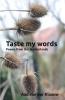 Aad van der Klaauw ,Taste my words