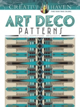 Rowe, William Creative Haven Art Deco Patterns Coloring Book