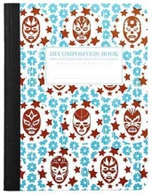 Roger, Michael Lucha Libre Large 2 Color Decomposition Ruled Book