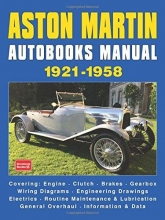ASTON MARTIN AUTOBOOKS MANUAL 1921-1958