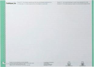 , Ruiterstrook Elba Nr 0 297x6mm verticaal groen