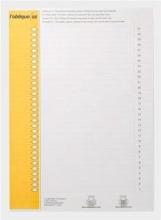, Ruiterstrook Elba Nr 9 157x7mm lateraal geel