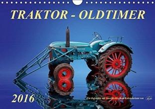 Roder, Peter Traktor - OldtimerAT-Version (Wandkalender 2016 DIN A4 quer)