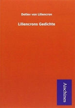 Liliencron, Detlev von Liliencrons Gedichte